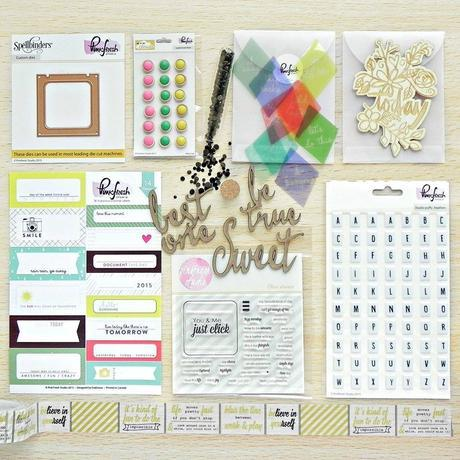Pinkfresh Studio Design Team : April Blog Hop