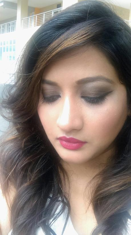 brown smokey eyes for makeup beginners