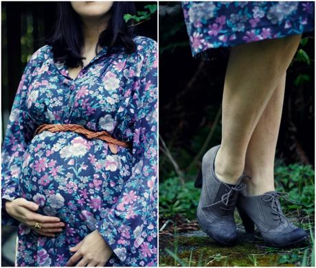 Boho Maternity Wear and a Thrift Haul | www.eccentricowl.com