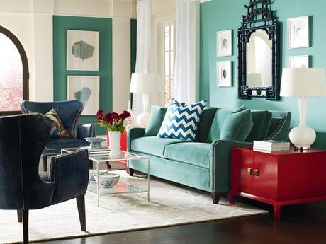 Sofas that are anything but neutral - couches with color