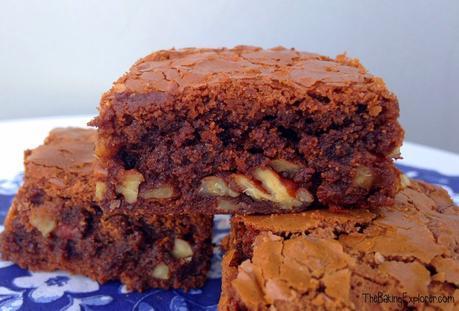 Chocolate & Pecan Brownies