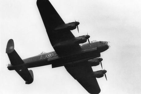 A-World-War-Two-RAF-Avro-Lancaster-bomber-aircraft