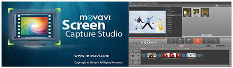 Movavi screen recording software