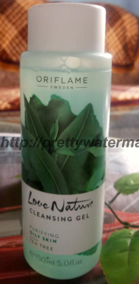 Newly Launch-Oriflame Love Nature's Tea Tree Range For Oily Skin