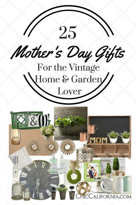 25 Mother's Day Gifts for the Vintage Home and Garden Lover