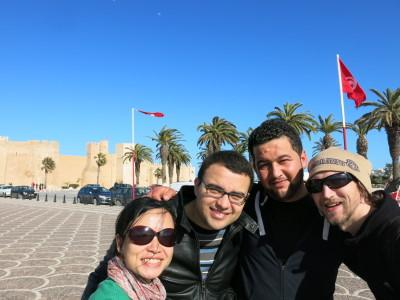 Touring Monastir with Wicem