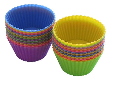 Silicon Baking Cups by Rainbow Wave Kitchen