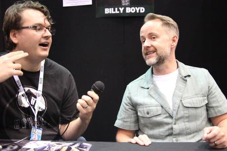 Billy Boyd Oz ComicCon House of Geekery
