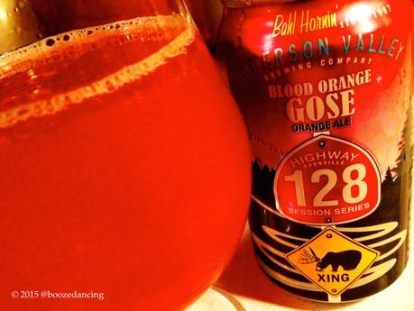 Beer Review – Anderson Valley Blood Orange Gose
