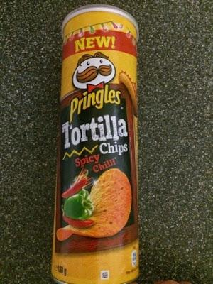 Today's Review: Pringles Spicy Chilli Tortilla Chips
