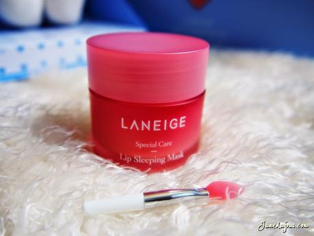 Laneige Sleeping Beauty Launch + Review: Laniege Water Sleeping Mask & Lip Sleeping Mask