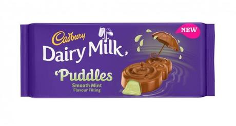 Cadbury's Dairy Milk Puddles - Smooth Mint