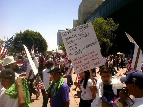 illegals demand free stuff