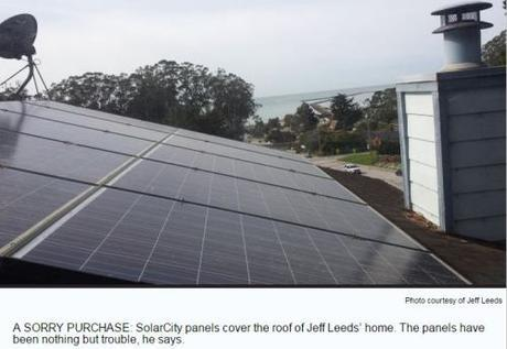 Jeff Leeds' solar-paneled roof