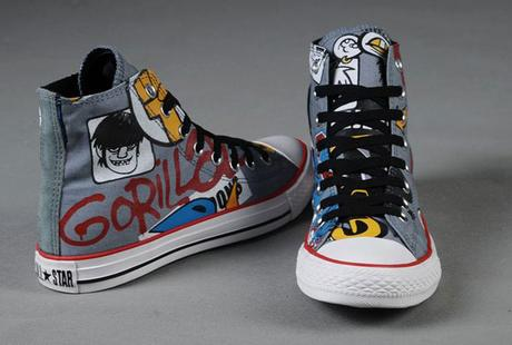 Graffiti and Comic Print Shoes