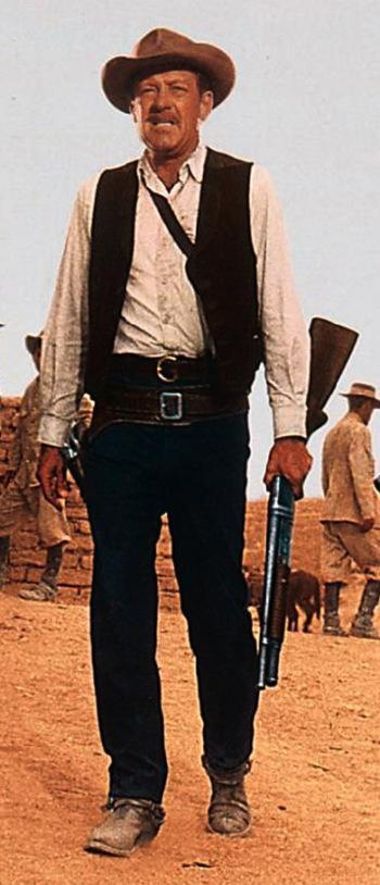 William Holden as Pike Bishop in The Wild Bunch (1969).