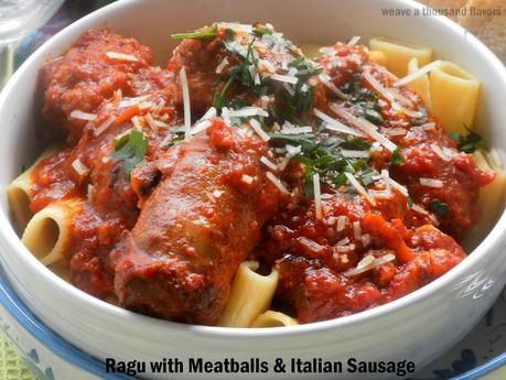Ragu with polpette02