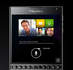 Blackberry Passport is your personal assistant