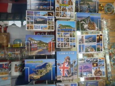 Souvenirs from Gibraltar
