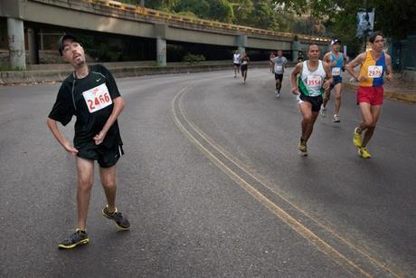 #MotivationMonday Maickel Melamed runs #BostonMarathon