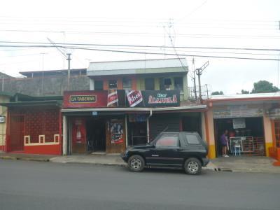 A pub in Alajuela, Costa Rica's second biggest city.