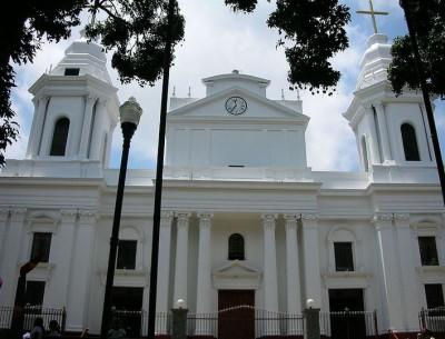 The main Cathedral in Alajuela