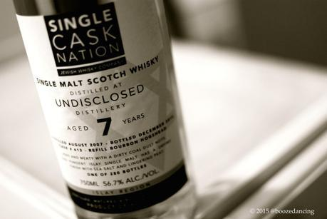 A Hard Boiled Review of Single Cask Nation UNDISCLOSED 7 YO Islay