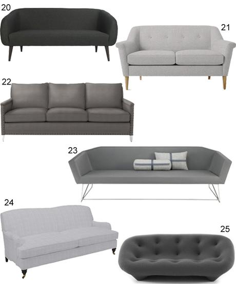 Mitchell Gold Hunter Sofa Kennedy Collection Mitchell  : get the look 60 modern grey sofas L nHH2R from atthewomensroom.com size 460 x 552 jpeg 19kB
