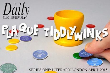 #London Plaque Tiddlywinks No.22: H.G Wells