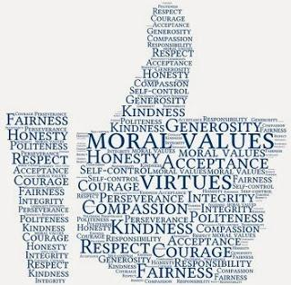 a paper on values and morals as basis of everyday life Ethical dilemma in nursing profession essay freedom versus control, quality versus quantity of life, truth telling versus from pattison, s (2010) emerging values in health care the challenge for.