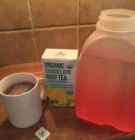 Dandelion Root Tea for Health and Weight Loss