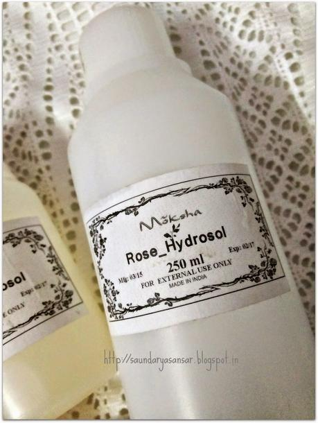 Where to get pure Floral Waters/Hydrosols like Mogra water, Rose water for skin care?