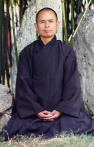 thich hnat hanh mindfulness pose