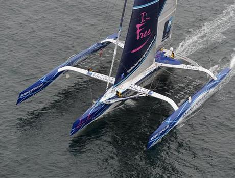 New Sailing Circumnavigation Record Set