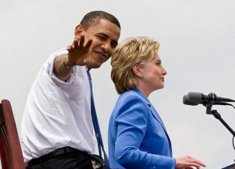 Rumours are circulating that the Democrat 2012 ticket will see Hillary Clinton replace Joe Biden as President Obama's running mate