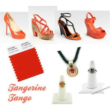 Tuesday Shoesday: Tangerine Tango 2012 Pantone Color of The Year 2012