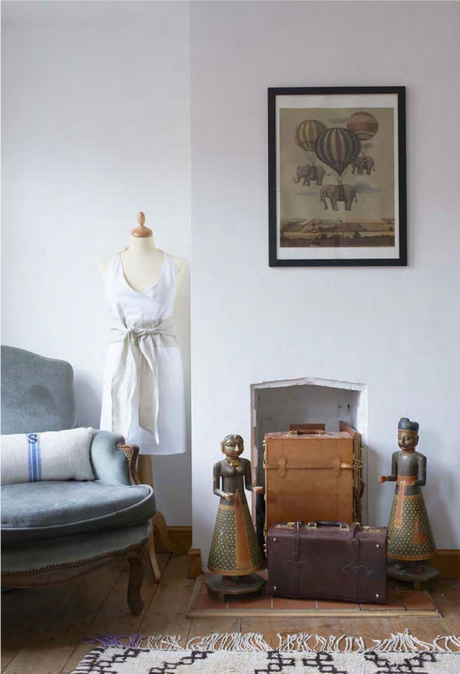 An eclectic house tour filled with treasures from travels