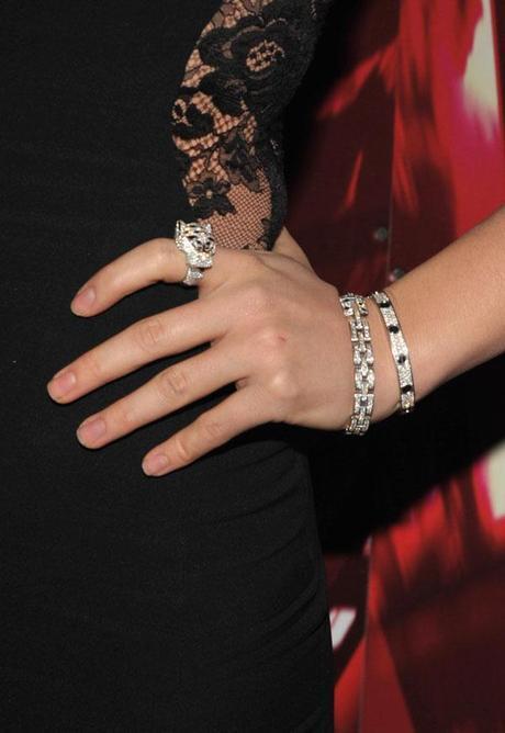 Olivia Wilde Cartier, Olivia Wilde, Palm Springs, panther, film festival