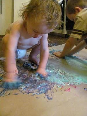 Toddler Art without the Mess