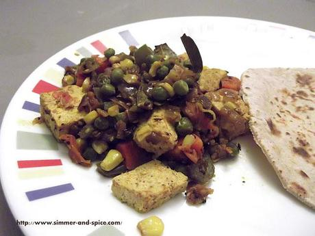 Mixed Vegetables with Tofu