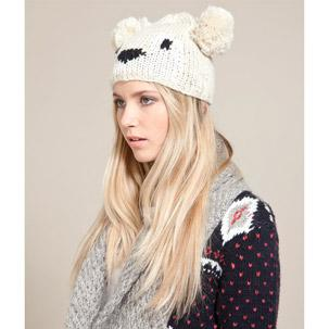 womens-hats-and-scarves-bear-hat