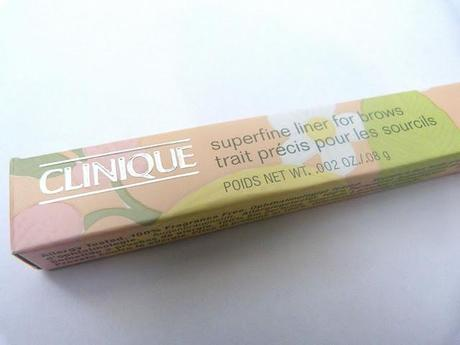 Clinique Super Fine Liner for Brows - 02 Soft Brown