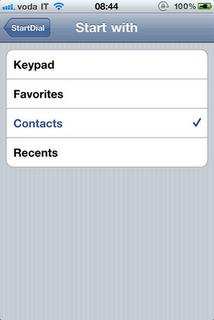 Enhance Phone App On iPhone With StartDial