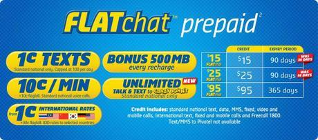 crazy johns flat chat prepaid mobile offer