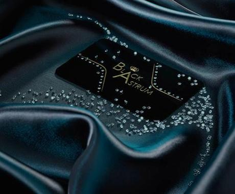 Black Astrum Card, business card, worl'd most expensive business card, luxury business card, 1500 business card, diamond business card, luxury business card, black astrum
