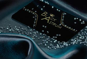 Worlds most expensive business cards diamond studded for Most expensive business card