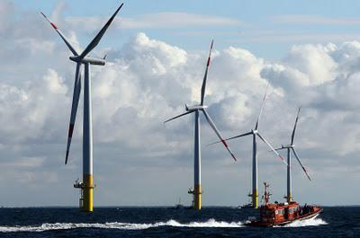 Sustainable Wind technology the German revolution on the High Sea