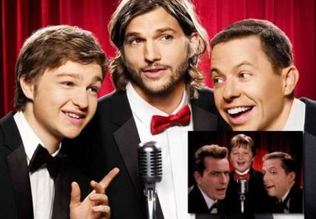 Ashton Kutcher to stay in Two and a Half Men; Charlie Sheen normal again (maybe)