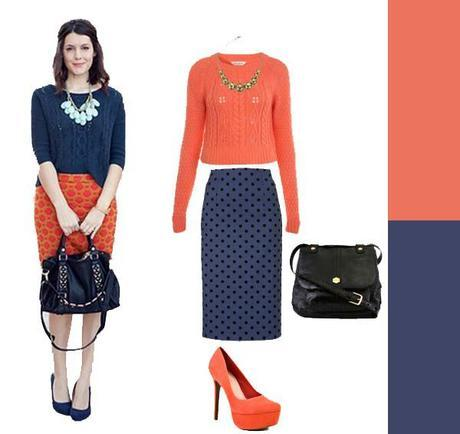Skirts + Sweaters, take two…
