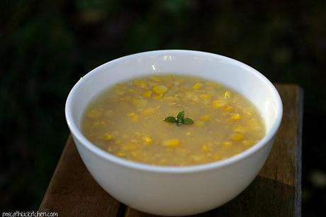 Velvet Corn Soup - Gourmet Game Changer #30 Barbara Tropp